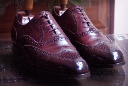 Shoe polish executive