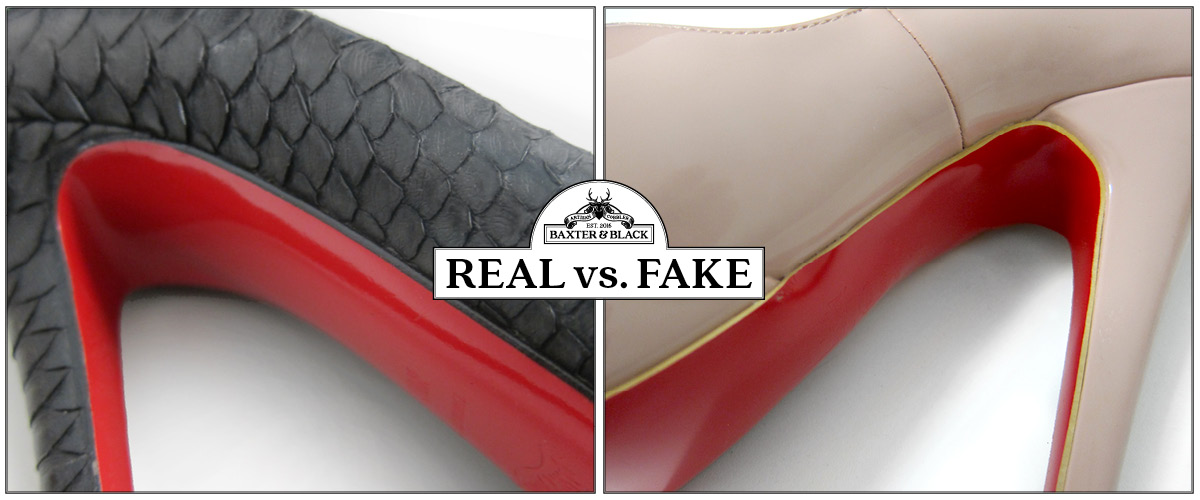 0d8d658eed0 Louboutin  Real vs Fake - Baxter   Black