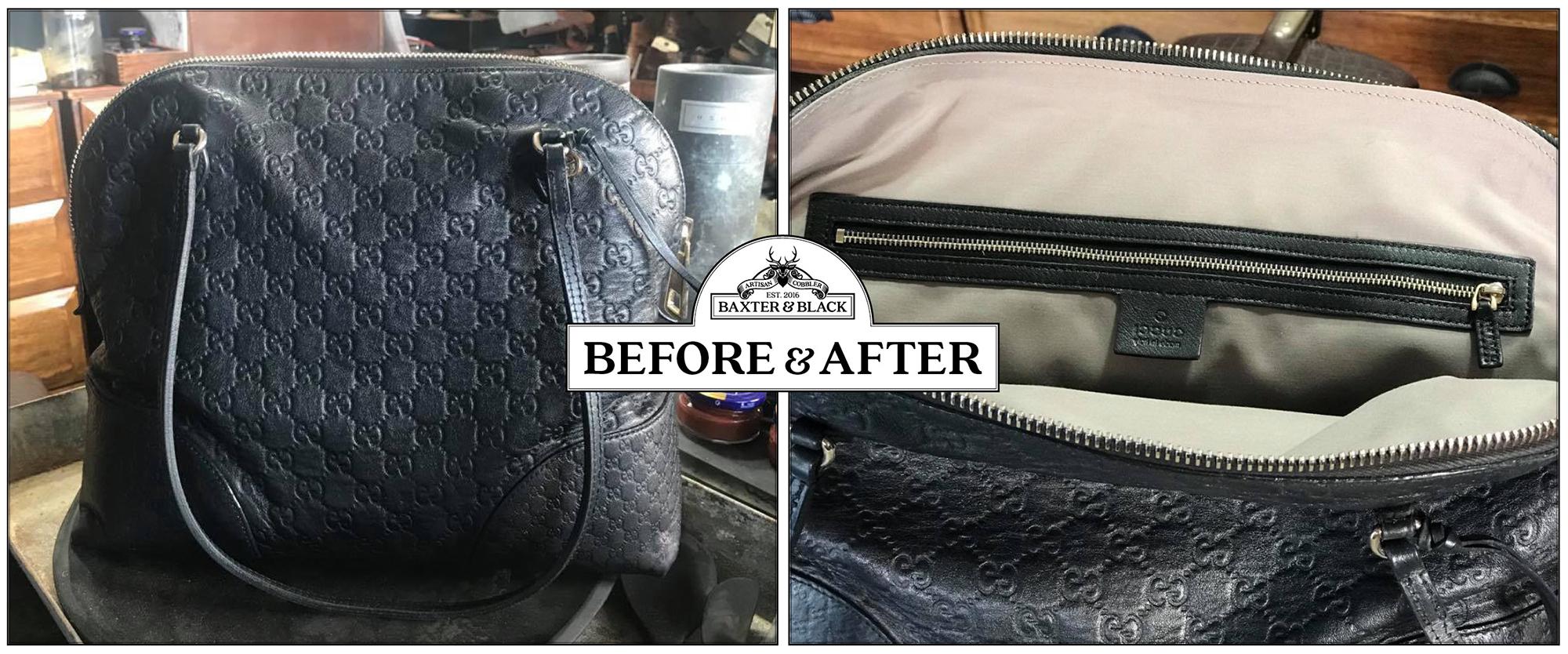 Designer bag repair