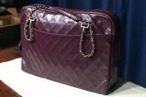 Chanel handbag recolour and restoration