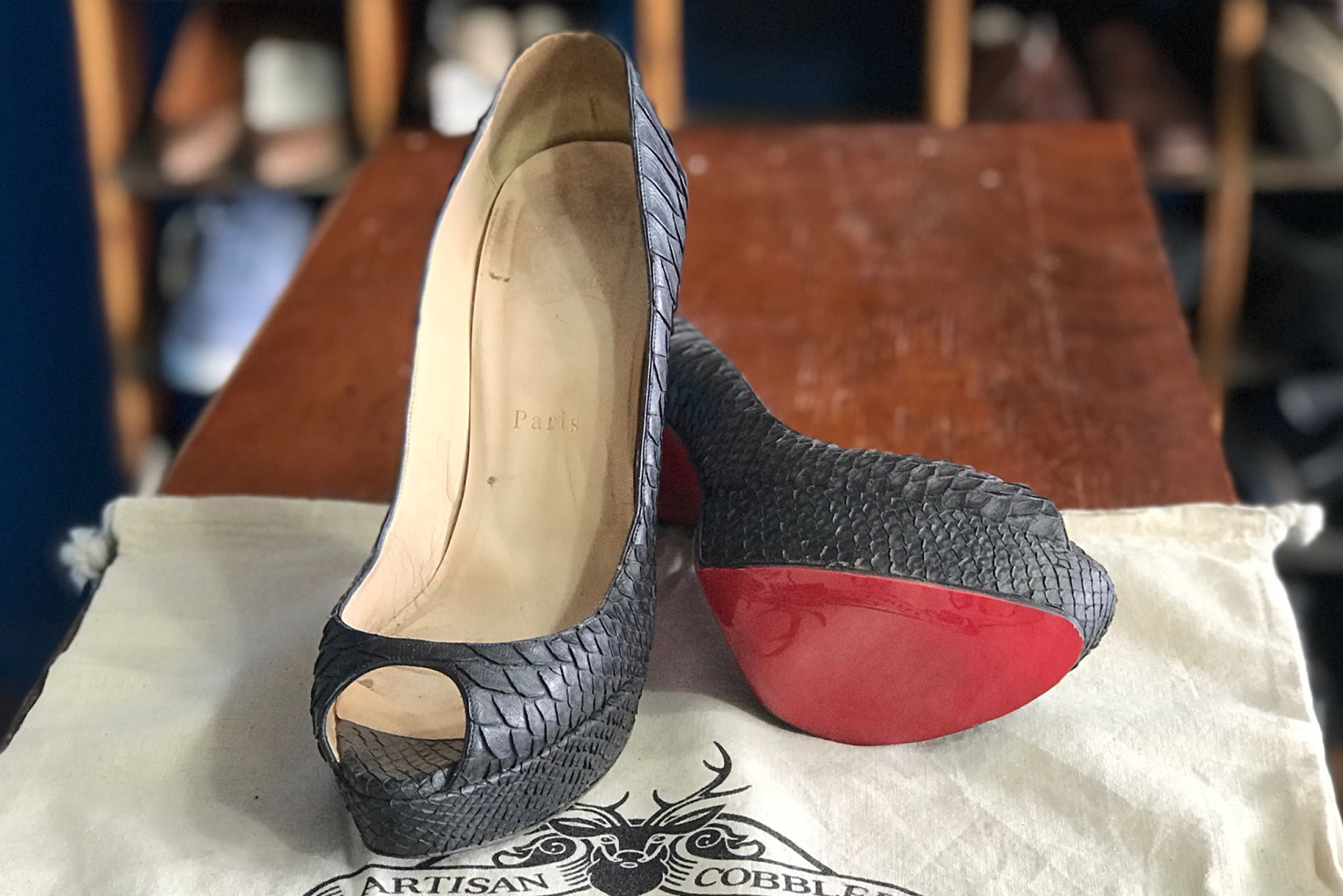 Christian Louboutin sole protector