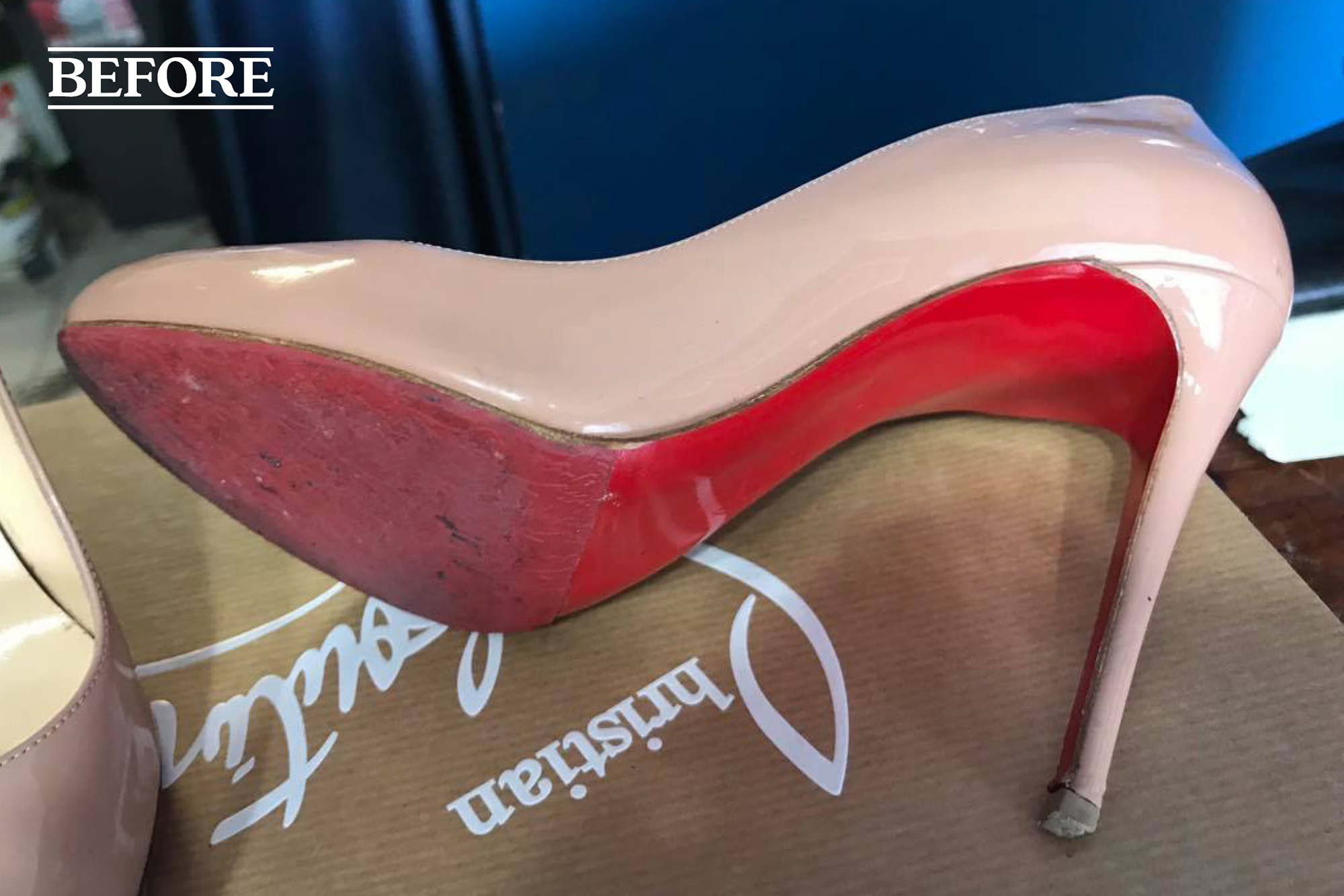 Christian Louboutin protective sole