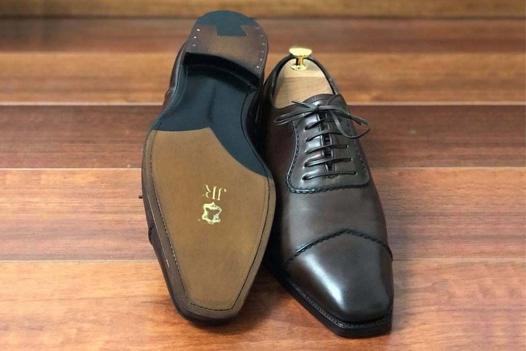 Gaziano and Girling with JR sole and heel