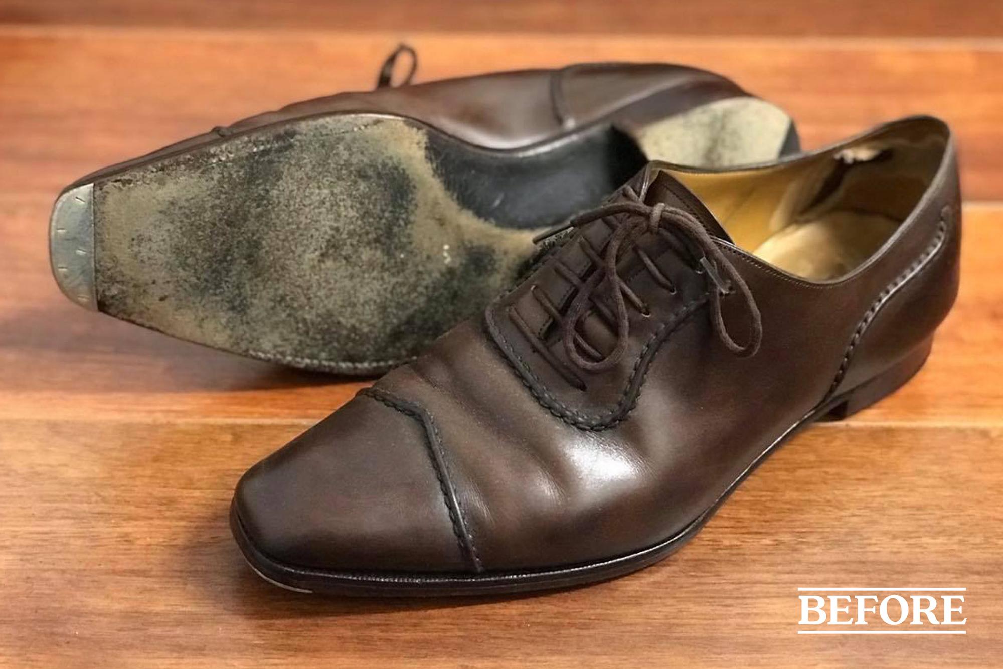 Gaziano and Girling JR Rendenbach sole and dovetail heel