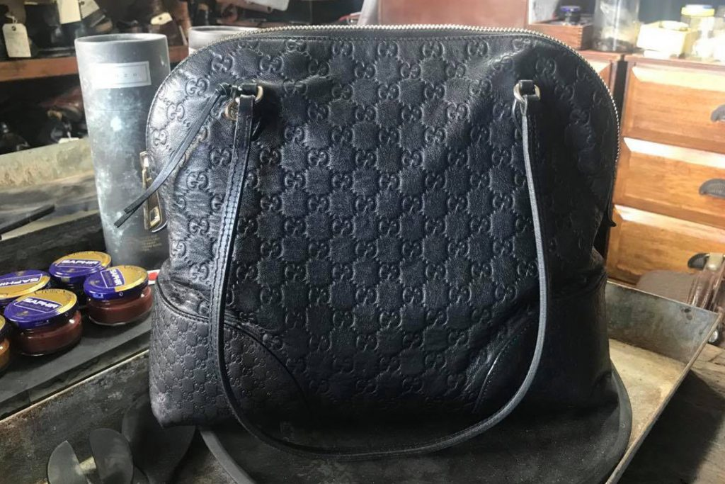Gucci handbag lining replacement