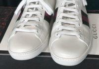 Gucci sneaker repair