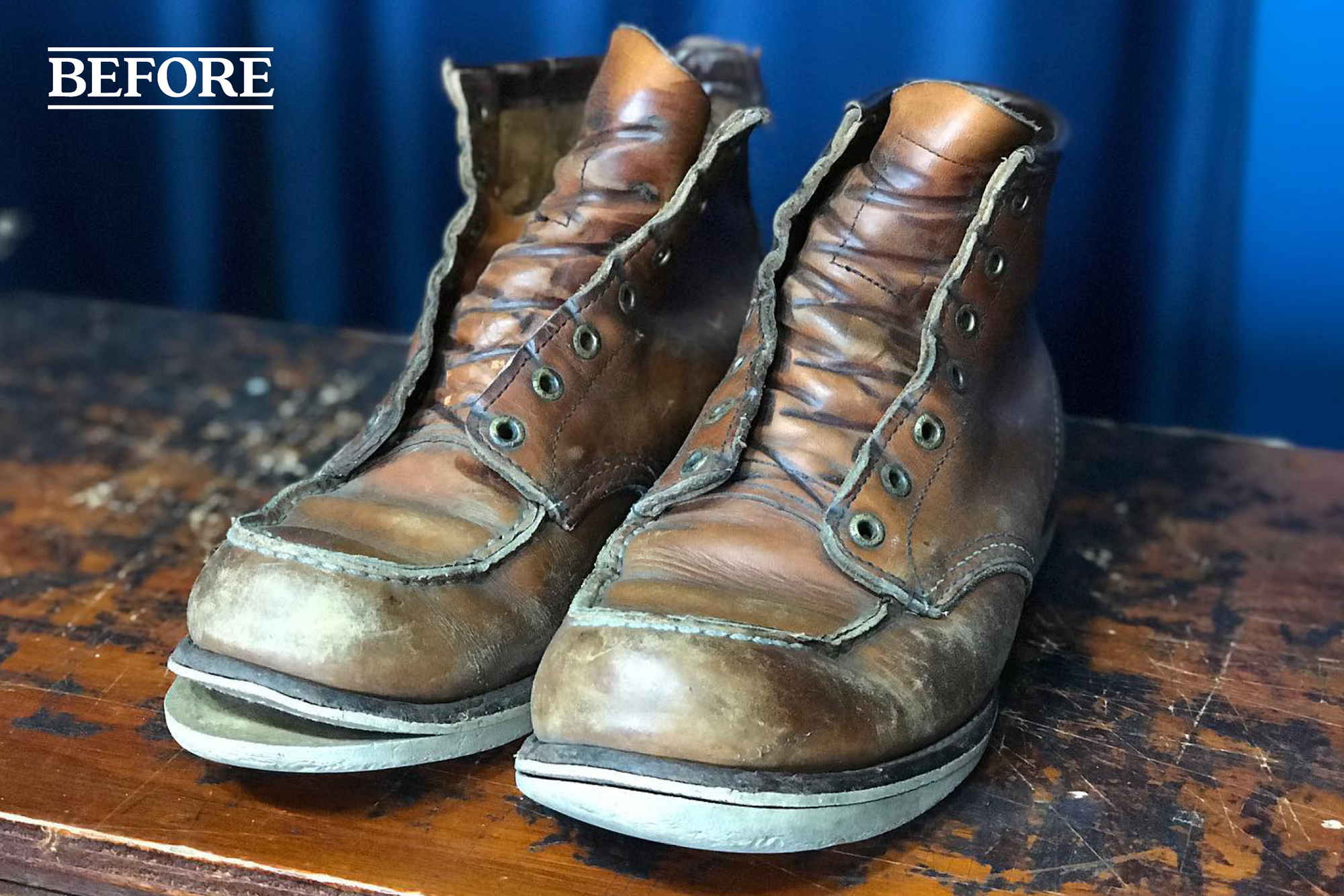 RedWing resole before
