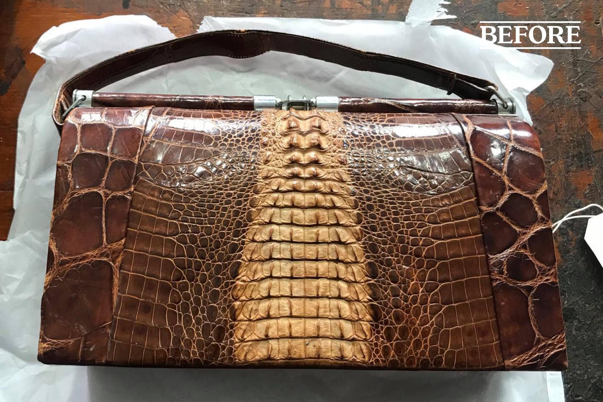 Vintage handbag repair