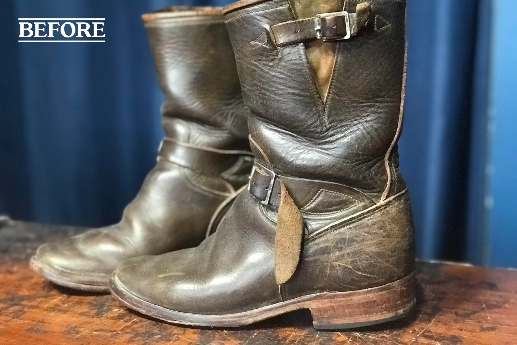 motorcycle boot repair