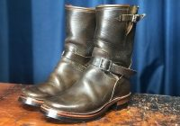 Motorcycle boots repair