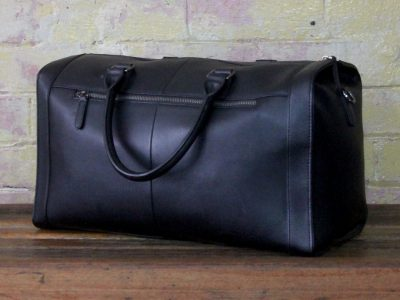 Leather Executive Overnight Bag