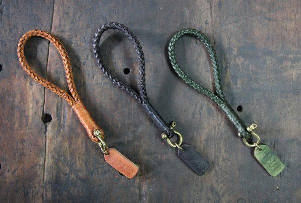 Hand-stitched Leather Keyholder