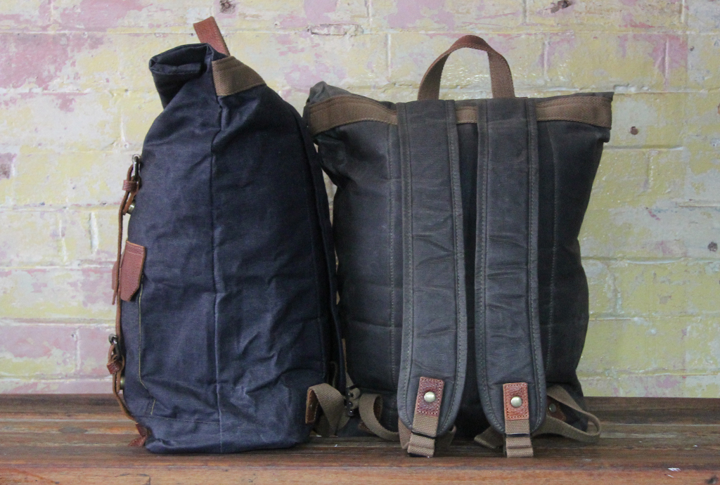 Waxed-canvas-backpack-side