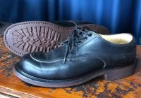 Vintage shoe resole and restoration