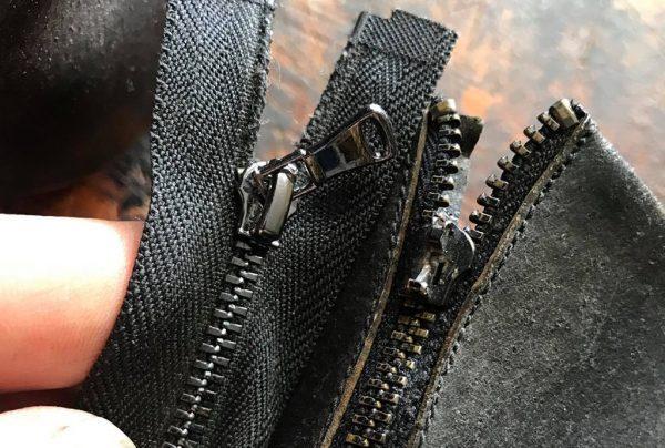 Zipper repair and replacement