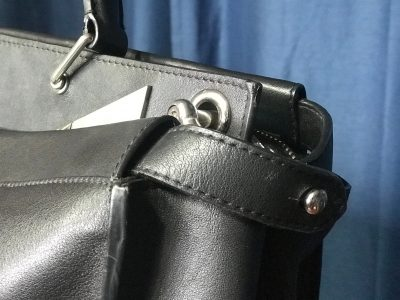 Handbag eyelet replacement