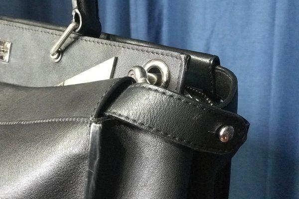 Handbag eyelet replacement