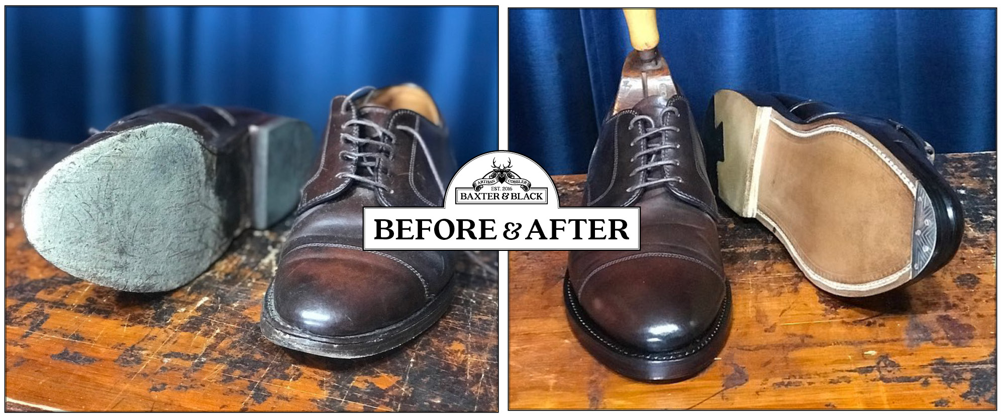 Before-and-After-Cordovan-Alden-recraft
