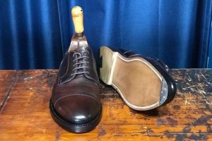 Alden Cordovan Shoe Recraft