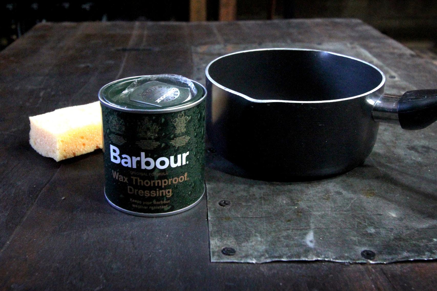 barbour-waxing