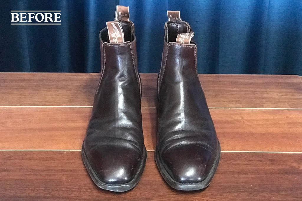 RM Williams resole