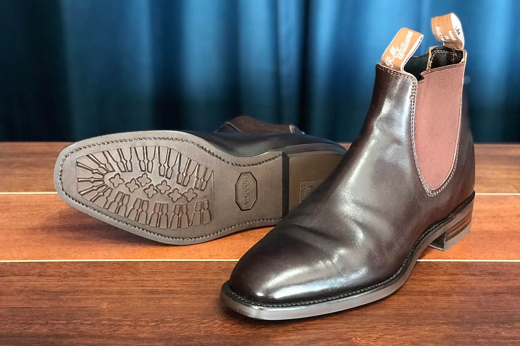 RM Williams with Vibram Sole