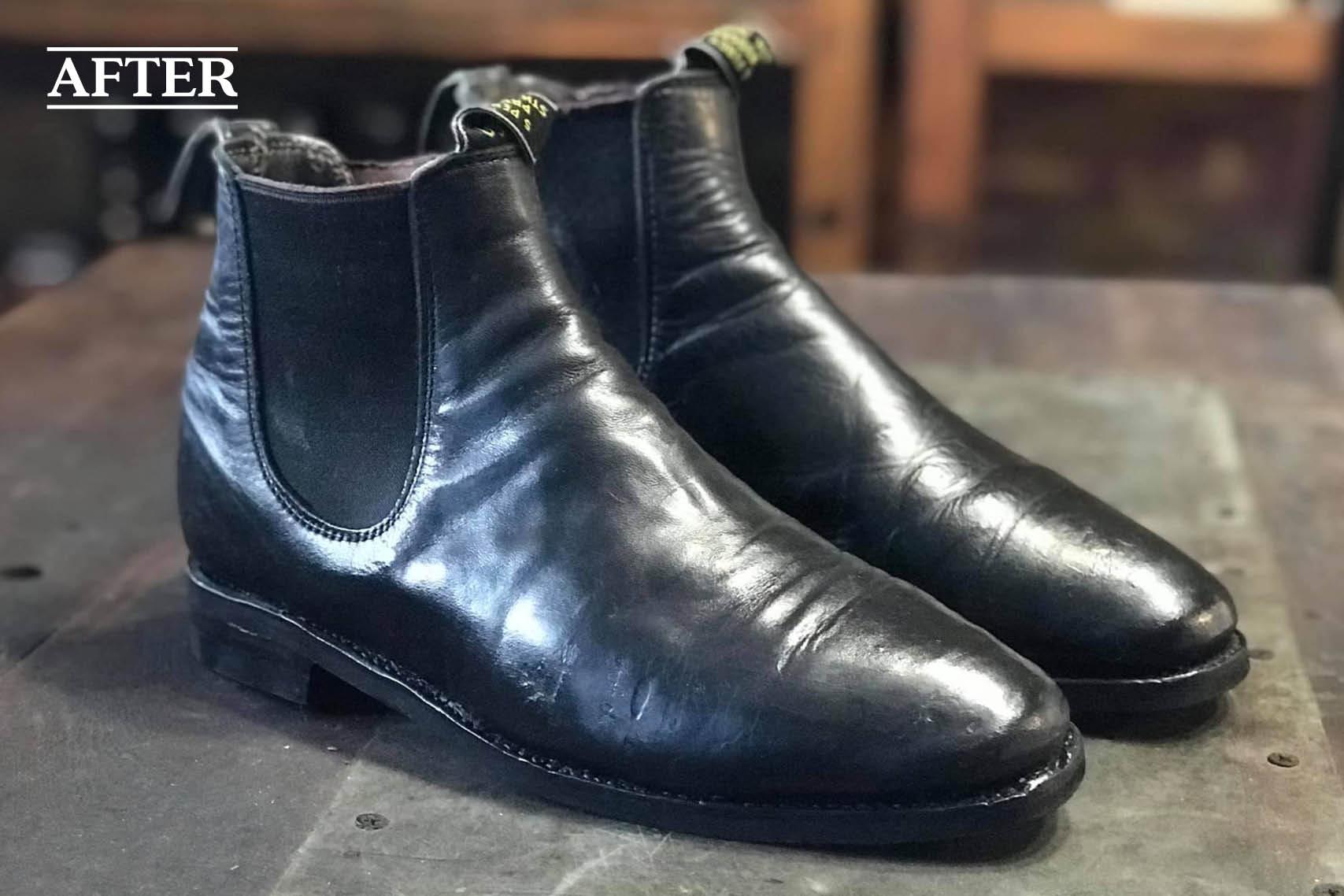 RM Williams rubber sole